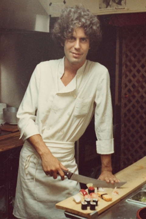 young bourdain